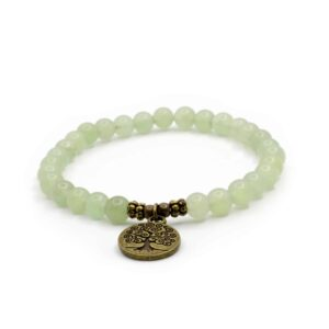 Grønn Aventurin krystall armbånd