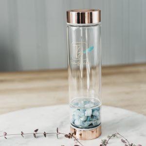 Krystallvannflaske